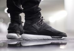 More December Heat  The adidas Y-3 Qasa High In Black White . 41eb0bc10