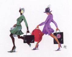 Power Shopping by Annie Lee. Shop for high-quality Annie Lee prints and posters and African American art to decorate African American Culture, African American Artist, American Artists, African Art, Annie Lee, My Black Is Beautiful, Black Artists, First Art, Kunst