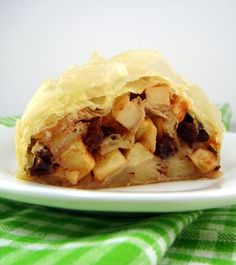 Apple Strudel  - the recipe for this  old-world favorite  can be found on my blog.