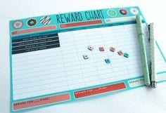 Free Printable: Reward Chart and Certificate | Mockeri