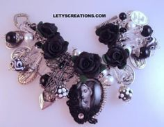 """Blessed Tears"" Catholic Virgin Mary Saints Religious Medals Charm Bracelet 