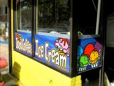 Italian Ice window graphics - by Character & Co. | Flickr - Photo Sharing!