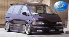 Toyota Van, Toyota Previa, Mini Vans, Vanz, Day Van, Porsche Boxster, Honda Odyssey, Wheeling, Wide Body