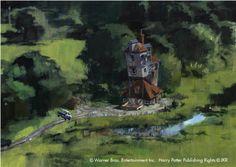 Harry Potter: 100 Concept Art Collection - Movie Art