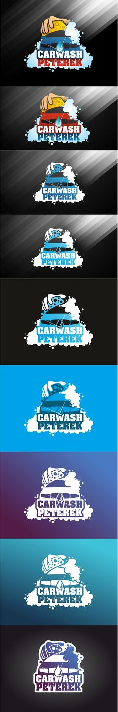 "Podívejte se na můj projekt @Behance: ""Logo for the car wash. Name is Peterek. Second version."" https://www.behance.net/gallery/43313531/Logo-for-the-car-wash-Name-is-Peterek-Second-version."