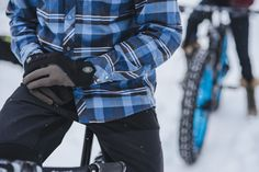 Club Ride Apparel Fall Winter 2015 Haze Glove and Daniel Flannel Sun Valley Idaho
