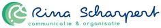 Voor mijn eigen bedrijf Rina Scharpert Communicatie en Organisatie maakte ik een briefing voor de huisstijl en begeleidde het proces. Het logo is ontwerpen door Simone Vaags van The Brown Fox. Vervolgens is een huisstijl ontwikkeld en geïnplementeerd: briefpapier, offerte, factuur, visitekaartje en webpagina.