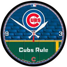 MLB.com Shop - MLB.com: Teams: Cubs: Chicago Cubs: Home Accessories : Chicago Cubs Personalized Round Clock