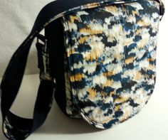 688e0ec816 Hand Crafted Saddle Cross Body bag. Adjustable strap.  Swoon