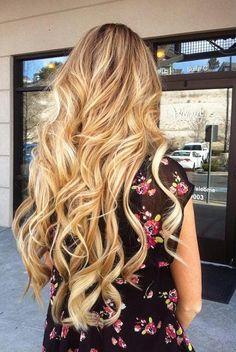 long hair....