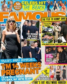 @famoushopaholic  #magazines #realconnections #2016 #January #TaylorSwift #Kardashians