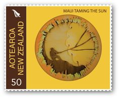 Maui Series Stamp Design