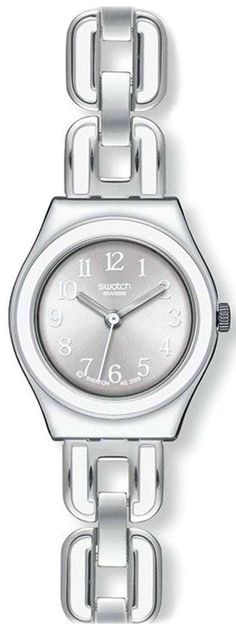 Features:  Stainless Steel Case Stainless Steel Bracelet Quartz Movement Mineral Crystal Silver Dial Analog Display Pull/Push Crown Solid Case Back Jewellery Clasp 30M Water Resistance  Approximate Case Diameter: 25mm Approximate Case Thickness: 8mm Back Jewelry, Jewelry Clasps, Jewellery, Stainless Steel Bracelet, Stainless Steel Case, Big Face Watches, Skagen Watches, Beautiful Watches, Swatch