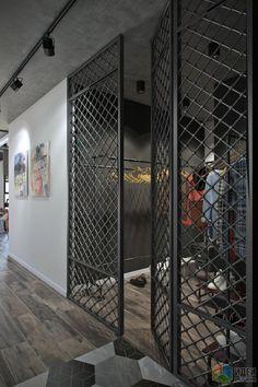 Metal Design, Loft Design, Home Room Design, House Design, Balcony Grill Design, Grill Door Design, Industrial Home Design, Industrial House, Office Interior Design