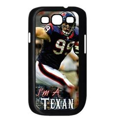 Buy mobile protector Samsung Galaxy S III i9300 case JJ Watt portrait image NEW for 3.49 USD | Reusell