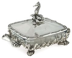 """One Kings Lane - Anything but Dull - 14"""" Seahorse Casserole Dish"""