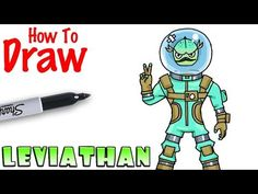 How to Draw Leviathan | Fortnite - YouTube