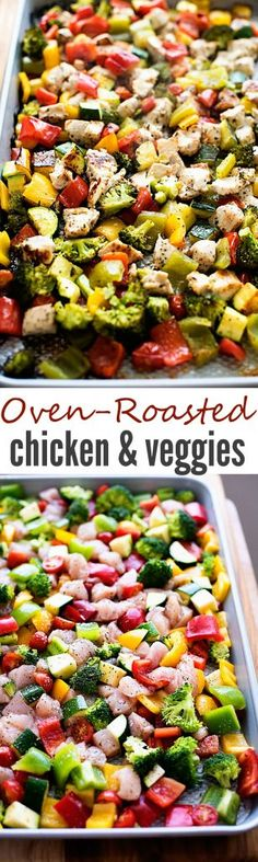 Oven-Roasted Chicken and Veggies - Life In The Lofthouse