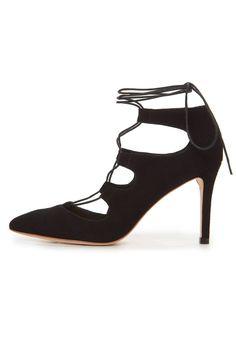 lace-up skinny heel pump Delfine Pump by Loeffler Randall. Shoes - Pumps & Heels - Pumps Shoes - Pumps & Heels - Black Shoes - Pumps & Heels - Mid Heel Alexandria, Virginia