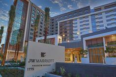 NEW Luxury JW Marriott Anaheim Resort Debuts in Orange County Anaheim Attractions, Anaheim Hotels, Anaheim Convention Center, Convention Centre, Anaheim Resort, Open Hotel, Luxury Kitchen Design, Marriott Hotels, Commercial Architecture