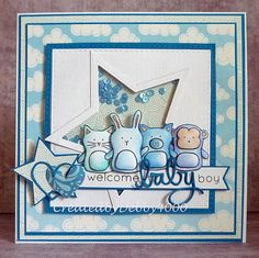 Welcome Baby card by Debby Yates