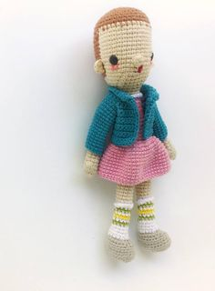This is a PDF CROCHET PATTERN, NOT THE FINISHED DOLL.  ELEVEN is an original amigurumi pattern, meant as a tribute to STRANGER THINGS character, so you can crochet your own doll. The patterns is suitable for both beginners and more experienced crafters. Required skills for this pattern: magic loop, crocheting in spiral, color changing, increase, decrease and the basic crochet stitches, single crochet and double crochet. If you have any quiestion about the pattern, feel free to contact, me, i…