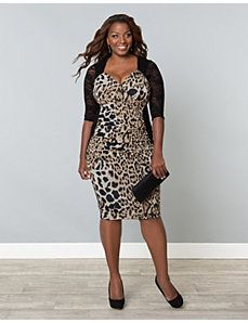 65a895e0cb857 Stop and Stare Ruched Dress by Kiyonna Plus Size Party Dresses