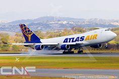 Boeing 747-400F Atlas Air Cargo N415MC | por CNF ao vivo