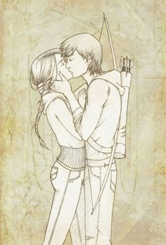 cute hunger games drawings | Cute Couple Drawings Tumblr