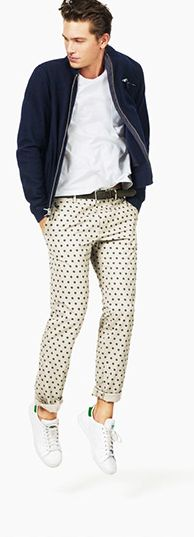 Slim Fit Chinos - click to shop