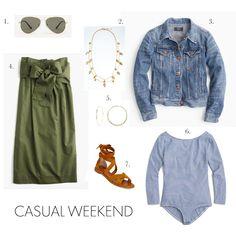 Fashion Friday: Uniform Dressing- Skirt + Bodysuit | elements of style | Bloglovin'