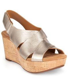 Clarks Artisan Women's Caslynn Diem Wedge Sandals