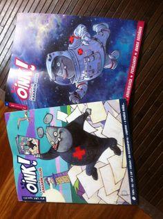 @Lemos_27: Chegaron!!!! @OINK! A revista do Xabarín Club #fb ...