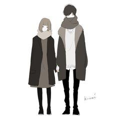 Manga Art, Manga Anime, Anime Art, Character Inspiration, Character Art, Character Design, Couple Drawings, Art Drawings, Satsuriku No Tenshi