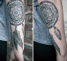 Dream Catcher Tattoo For Men Entrancing 29 Dreamcatcher Tattoos For Men  Pinterest  Tattoo Dreamcatcher Review