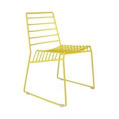 Line Chair - Yellow | dotandbo.com