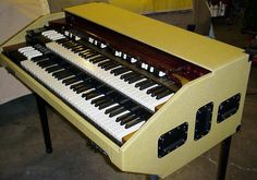 "Northern Chop Hammond Organ ""Tweed"" Portable by BB Organ"