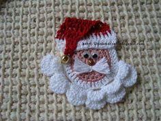 Papa noel crochet
