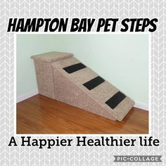 Handmade in the USA dog ramps, dog stairs, & pet furniture.