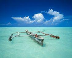 Am Strand der Insel Sansibar, Tansania von Markus Mauthe