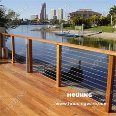 Cheap railing requirements, Buy Quality railing code directly from China wire kitchen Suppliers: outdoor stainless steel wire railing designed for deck