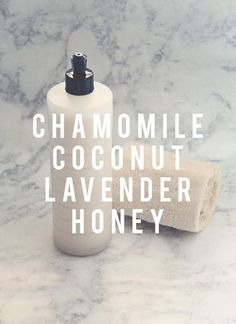5 Unbelievable, DIY Body Washes You'll Wish You'd Been Making All Along – SimplyNaturalMama DIY Chamomile Coconut Lavender Honey Body Wash Diy Body Wash, Homemade Body Wash, Natural Beauty Tips, Natural Skin Care, Natural Body Wash, Organic Beauty, Organic Makeup, Beauty Care, Diy Beauty