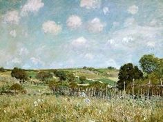 Alfred Sisley - The Meadow.