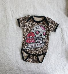 Olivia Paige  Little sugar skull Leopard by OliviaPaigeClothing