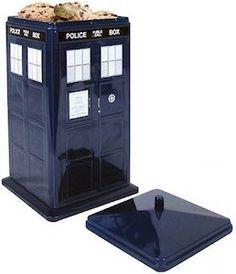 Doctor Who Tardis Cookie Tin