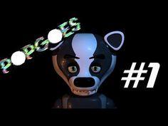 POPGOES Первая ночь Прохождение фан игры FNAF - YouTube