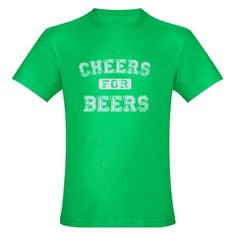 Cheers for Beers T-Shirt from FlippinSweetGear