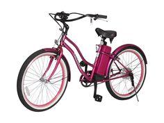X-Treme E-Bike South Beach Electric Beach Cruiser Bicycle