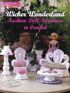 Ажурная мебель для куклы Барби. Комментарии : LiveInternet - Российский Сервис Онлайн-Дневников