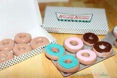 DIY American Girl doll crafts to make these adorable Krispy Kreme Donuts